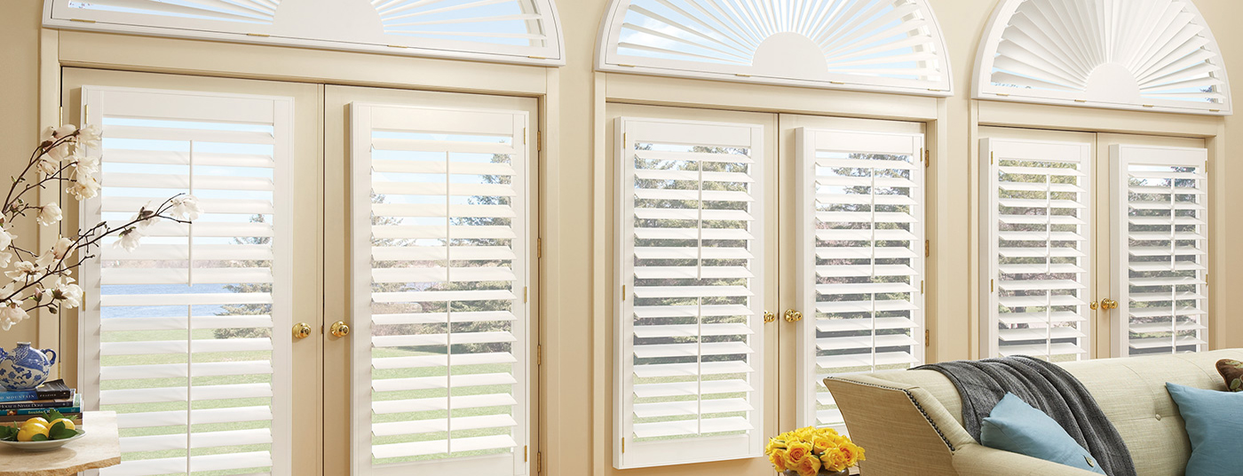 Offering Many Types of PLANTATION SHUTTERS