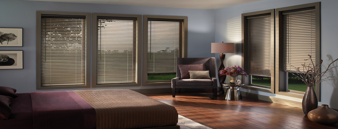 We specialize in Horizontal and Mini Blinds